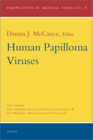 Human Papilloma Viruses, Volume 8 (Perspectives In Medical Virology)