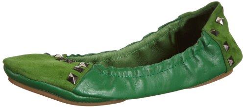 Lise Lindvig GEMMA 131 217 60, Ballerine donna, Verde (Grün (Green 60)), 36