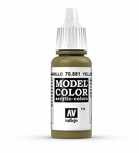 Vallejo Yellow Green Model Color 1 Paint, 17ml
