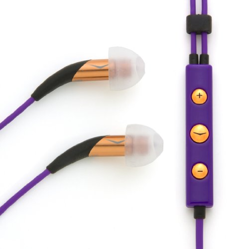 Klipsch Image X10i Noise Isolating In-Ear Headset with 3-Button Mic for iPhone / iPod / iPad - Lou Reed Signature Edition