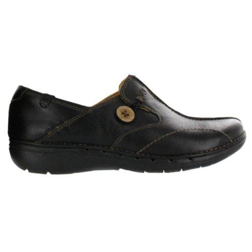 05d325d8f7b Unstructured By Clarks Women s Un.Loop Comfort Slip On Shoe Black 9.5 M US