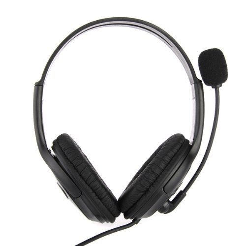 Casque Ecouteur Microphone Volume Réglable USB 2.0 pour PS3 Console