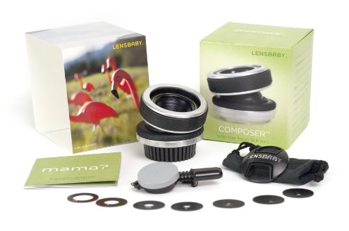 Lensbaby The Composer for Canon EF mount Digital SLR Cameras