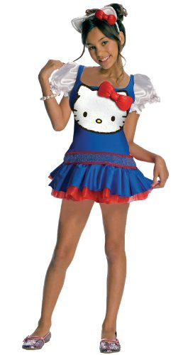 Rubies Costumes Hello Kitty Blue Dress Child Costume Blue Small (4-6)