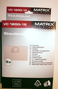 Matrix VC 1200-15 Staubsaugerbeutel