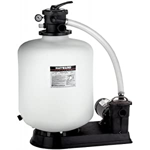 Hayward S180T Sand Filter System (Above Ground) WITH VALVE & 1HP Pump