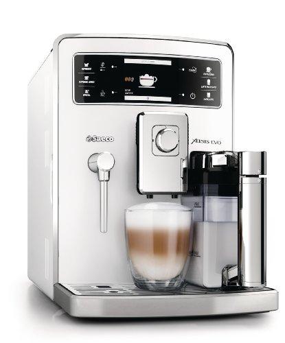 Saeco HD8953/21 Xelsis Evo Kaffeevollautomat, 15 bar, integrierte Milchkaraffe, weiß thumbnail