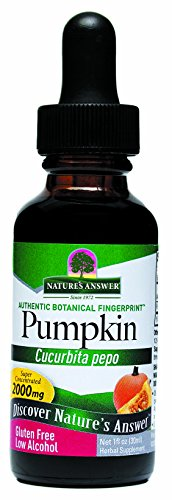Nature's Answer Pumpkin Seed with Organic Alcohol, 1-Fluid Ounce (Answers From Nature compare prices)