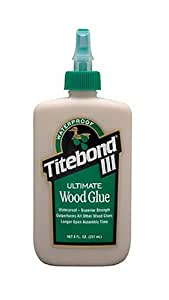 Franklin 1413 Titebond III Ultimate Wood Glue, 8-Ounces