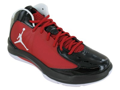 Nike Men's NIKE JORDAN AERO FLIGHT BASKETBALL SHOES 9.5 (GYM RED/WHITE/BLACK)