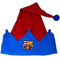 Barcelona Fc Xmas Elf Hat Official Football Fancy Dress Fan Souvenir