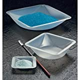 SEOH Plastic Square Weigh Boats Large Dish 100pk