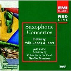 Saxophone concertos cover