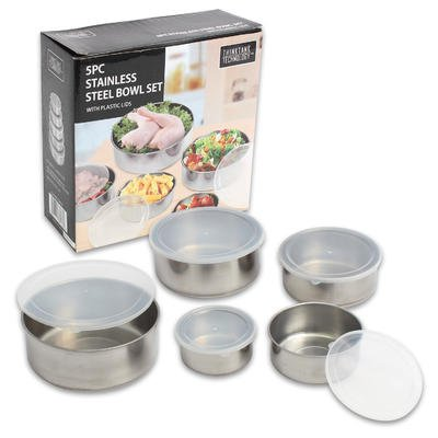 Stainless Bowl Set front-507080