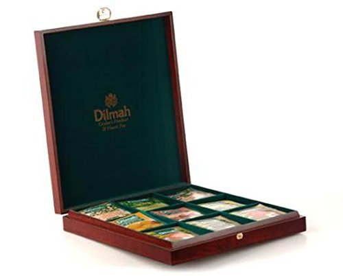 Dilmah, Luxury Wooden Presenter, Tea Chest, Founders Reserve 9 Slot (Chest Only)