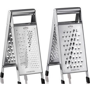 Kuchenprofi 1235002800 Stainless Steel Parma Collapsible Assorted Types Folding Grater Reviews