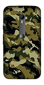 Timpax Protective Hard Back Case Cover With access to all controls and ports Printed Design : Colourful Pattern.100% Compatible with Motorola Moto-G-3 ( 3rd Gen )