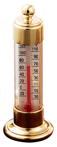Buy Conant Custom Brass Model T-19 Vermont Natural Brass Desk Thermometer