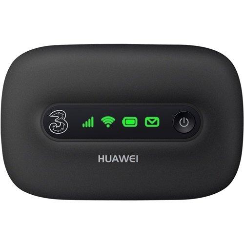 Huawei E5331 モバイル WIFI ルーター(E585/E586と同じ) 下り最大21Mbps Mobile WiFi (SIM フリー 版) ブラック