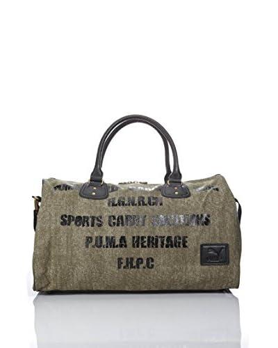 Puma Borsa Originals Barrel Bag Canvas [Olive]