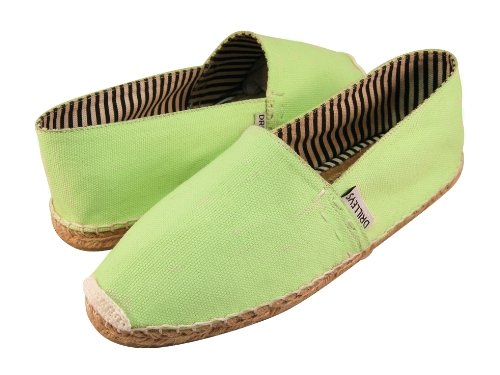 Cheap Dublin Men's Green Espadrilles Hand Made Natural Cotton and Jute (B0078MOWYS)