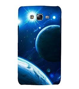 printtech Nature Solar System Planets Back Case Cover for Samsung Galaxy E7 / Samsung Galaxy E7 E700F