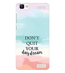 EPICCASE Keep day dreaming Mobile Back Case Cover For Vivo V1 Max (Designer Case)