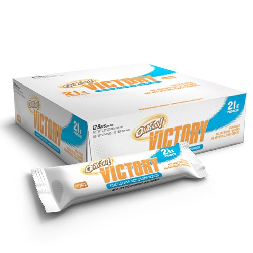 OhYeah! Victory Bars, Chocolate Chip Cookie Dough, 12 2.29oz bars ...