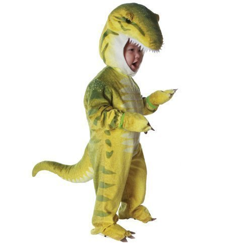 Green T-Rex Dinosaur Costume Toddler Boy - 4-6 Color: As Shown Size: Child (4 to 6X) Model: