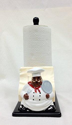 awardpedia chef black napkin holder