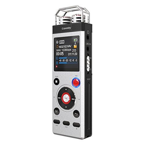 Registratore Vocale Digitale 8 GB Coredy CR-B5 Radio FM USB Diretta Memoria Incorporata