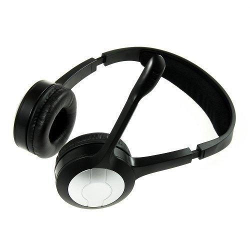 pc radio stereo headset headphones earphones 2 4 ghz wireless 10 m transmission distance. Black Bedroom Furniture Sets. Home Design Ideas