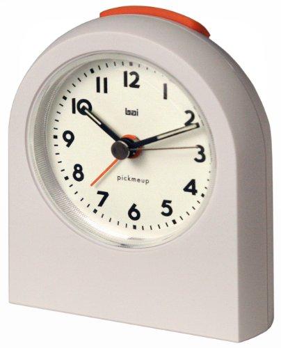 Bai Pick-Me-Up Alarm Clock, Landmark White