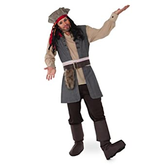 Disney Store Captain Jack Sparrow Costume for Adults Pirates of the Caribbean