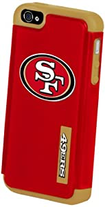 Forever Collectibles San Francisco 49ers Rugged Dual Hybrid Apple iPhone 4 & 4S Case