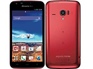 AQUOS PHONE ZETA SH-06E docomo [Red]