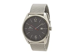 Lacoste Austin Navy Blue Dial Stainless Steel Mesh Mens Watch 2010683