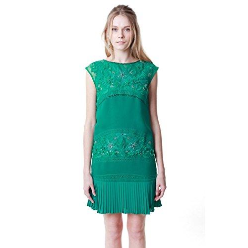 グレースコンチネンタル(GRACE CONTINENTAL) シースループリーツワンピース : 服&ファッション小物通販 | Amazon.co.jp