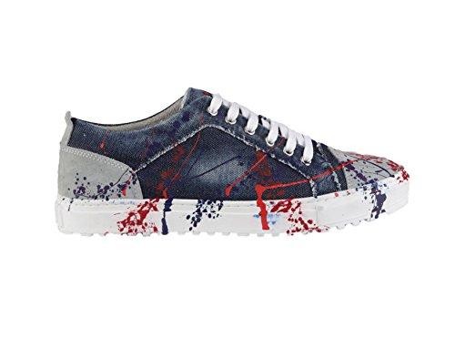 ANTONY MORATO - Scarpe da uomo sneaker mmfw00555/le500002 41 blu