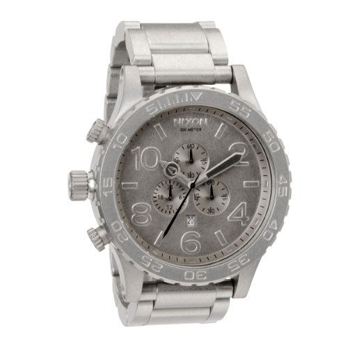 Nixon Unisex-Armbanduhr The 5130 Chrono Chronograph Quarz Edelstahl A0831033-00