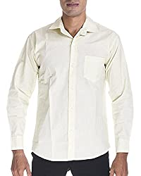 Venga Men's Button Front Shirt (RF002, Light Green, L)