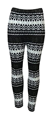 WOMENS LADIES CHUNKY CABLE KNIT PATTERN KNITTED THICK WOOL WARM LEGGINGS