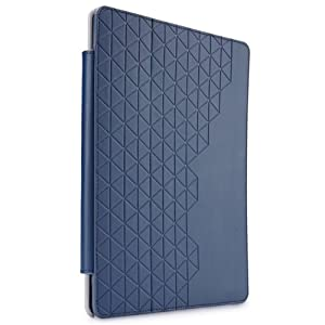 Case Logic iFOL-301 Purple Hard Shell Polycarbonate Folio for iPad 2/3 and 4th Generation, Dark Blue