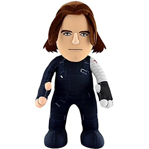 Bleacher Creatures Marvel Captain America Civil War Winter Soldier Plush Figure, 10' [병행수입품]-