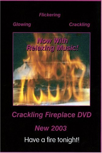 Crackling Fireplace DVD 2003 with Relaxing Music