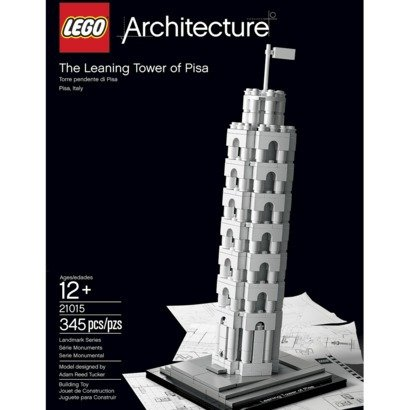 LEGO Architecture The Leaning Tower of Pisa Amazon.com