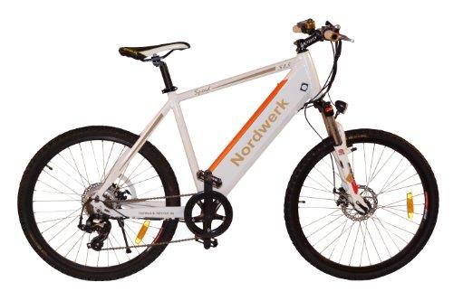 E-Bike, Mountainbike, Pedelec, Alu EBike, starker 12 Ah Panasonic Akku, S 13