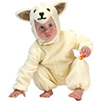 Toddler Deluxe Lamb Halloween Costume (Size:2-4T)