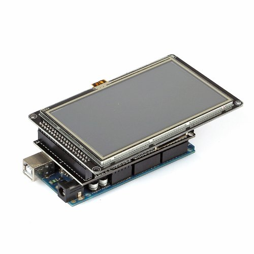 "Sainsmart 4.3"" Inch Tft Lcd Display For Arduino Due Mega 2560 Uno R3 (4""3 Lcd + Mega Tft/Sd Shield + Mega 2560)"