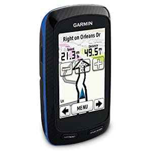 Garmin Edge 800 GPS HRM with Data Card Blue, One Size by Garmin